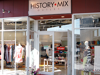 HISTORY MIX OUTLET